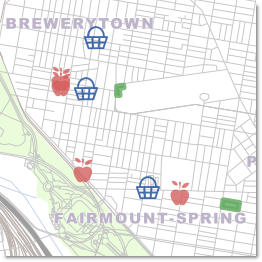 Philly Fresh Food Map